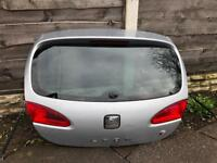 Seat Leon FR tailgate boot lid with screen Silver 2005-2012