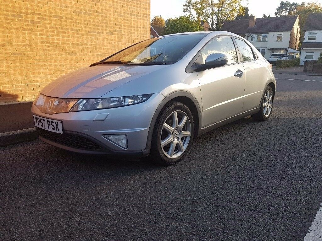 HONDA CIVIC 57 PLATE 2.2 CTDI FULL SERVICE HISTORY 12 MONTHS MOT IMMACULATE