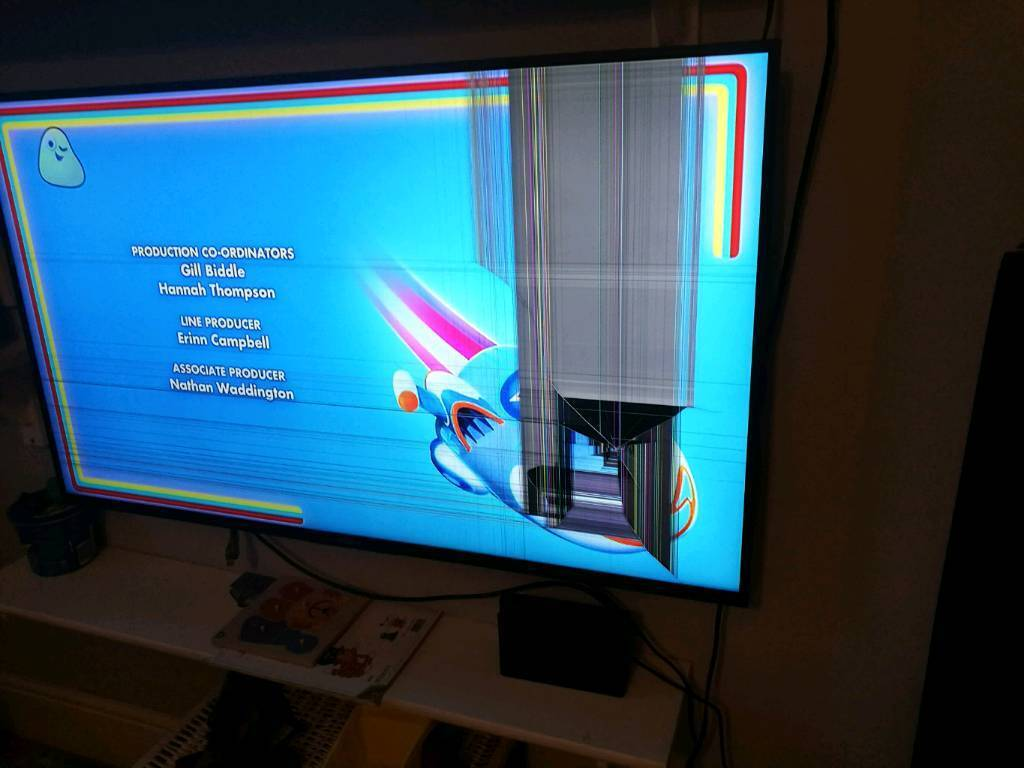 fixing sony tv screen