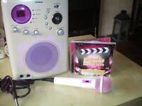 Girls karaoke machine
