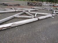 A range of Pitch Pine Beams/ Trusses / Doors / Spindles etc