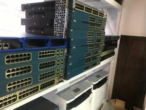 SWITCH 24-48 PORTS CISCO CATALYST 3650 3560G 3750 JUNIPER SA2500