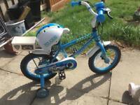 Boys 14inch bike like new
