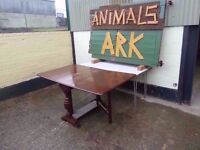 Drop Leaf Square Table Delivery Available