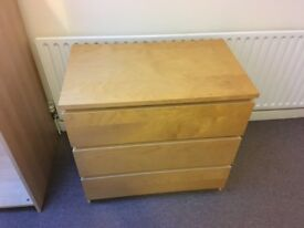 Chest of drawers available