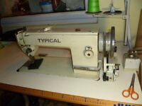 WALKING FOOT INDUSTRIAL TYPICAL SEWING MACHINE( Ideal for upholstery, Horse Rugs, Canvas