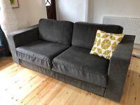 Three seater grey Nabru sofa