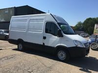 IVECO DAILY 35S12 MWB HIGH TOP IN VGC IN AND OUT GOING CHEAP + LOW MILEAGE FOR THE YEAR