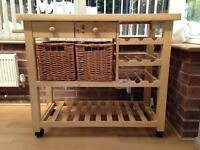 Kitchen trolley / Butchers block