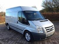 2010 Ford Transit 2.2 TDCi 140 BHP T300 M Limited Van (MWB) HEATED SEATS! NEW MOT, NO VAT!