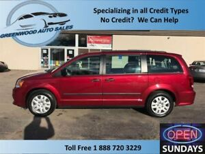 2014 Dodge Grand Caravan REAR STOW & GO, LOW KM'S (80869KM'S) CA