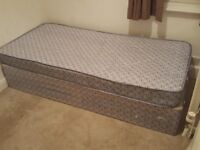 Never used single bed with base £20