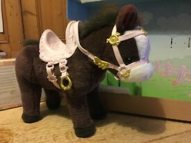 Lovely toy horse by Baby Born / Zapf Creations, walks and makes sounds