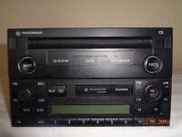 VOLKSWAGEN CAR RADIO/CD PLAYER CHANGER