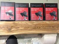 Valiant twin blade stove fan