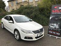 2011 VW PASSAT CC 2.0 GT TDI BLUEMOTION 2 YEARS WARRANTY NEW CLUCH&FLYWHEEL 5 SEATS white diesel a4