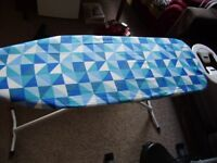 Iron and folding ironing board, good condition
