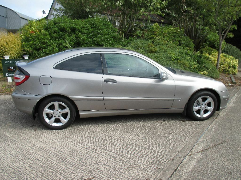 stunning mercedes c 220 se cdi coupe low miles long mot in belfast city centre belfast. Black Bedroom Furniture Sets. Home Design Ideas