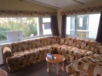 8 Berth static caravan with double glazing & central heating for sale in Norfolk by the beach