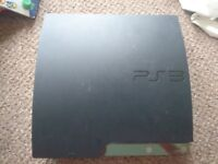 Sony PlayStation 3 Black Console (CECH-2003A) spares or repairs
