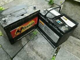 Car batteries BANNER 95 Ah And Halfords