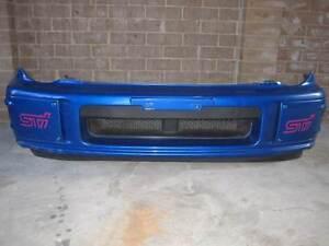 Subaru Impreza WRX STi Prodrive Front Bumper 01 02 03 Bugeye RARE Cameron Park Lake Macquarie Area Preview