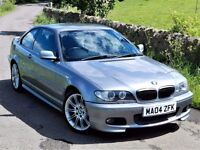 IMMACULATE EXAMPLE! (2004) BMW 330 CI M SPORT - MANUAL - ALLOY WHEELS - FULLY LOADED - HEATED SEATS
