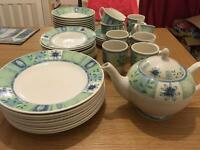 Large dinner set from next