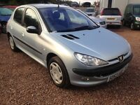 2004 PEUGEOT 206 1.4HDI ONLY 49,000 MILES!! £30 A YEAR ROAD TAX!!