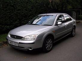 2003(03) FORD MONDEO ZETEC TDCI Diesel 5 Dr 1998cc Metallic Silver Fabulous Car