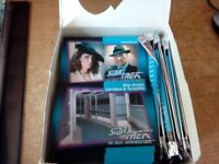 STAR TREK THE NEXT GENERATION TRADING CARDS IN BINDER SEASON 7 PLUS A BIG FREE ITEM