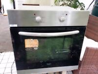 Built in electric oven and grill BUSH Silver