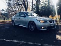 BMW 530D M SPORTS/1 LADY OWNER/FULL SERVICE/EXCELLENT CLEAN CONDITION/DIGITAL SPEEDO METER/HPI CLEAR