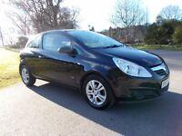 2008 08 VAUXHALL CORSA 1.2 16V BREEZE 3 DOOR HATCH BACK
