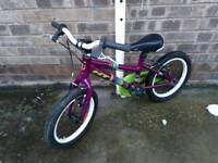 """Kids ht lara 16"""" bike"""