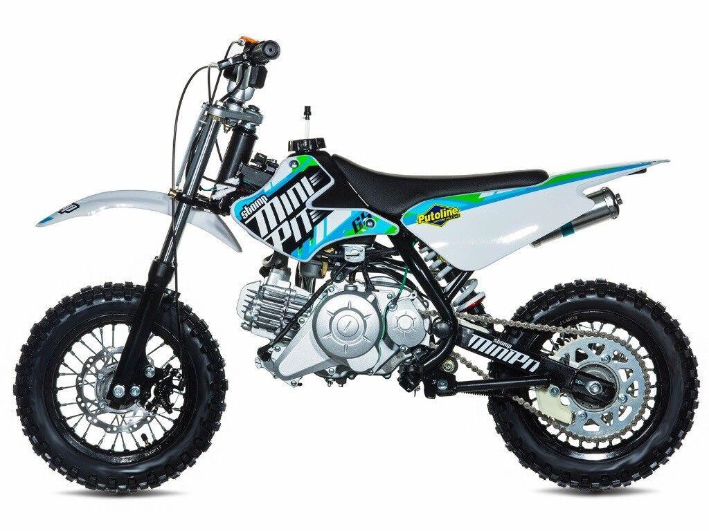 stomp minipit 65 pit bike new kids motorbike childs. Black Bedroom Furniture Sets. Home Design Ideas