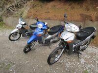 3X honda ANF Innova 125cc (Read advert)