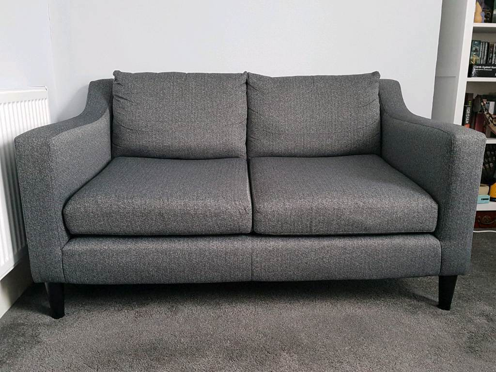 Next Jacob Dark Charcoal Sofa In East Croydon London