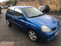 Renault clio campus 1.2 16v 06-plate! 12mths mot! 77,000 miles! Full elecs! Drive away £475!!!