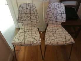 Two never used chairs