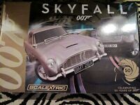 Scalextric James Bond 007 Skyfall racing set with extras