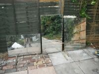 Garden Mirrors x 3 - Make your garden look bigger ! * Vintage/shabby chic look !