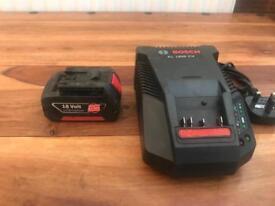 Bosch 18V Battery 3.0Ah LI-ION COOLPACK WITH CHARGER UNIT 1860 CV 240v