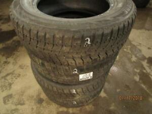 215/65R16 SET OF 4 USED BRIDGESTONE WINTER TIRES