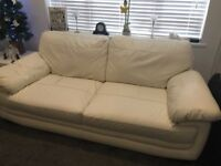 Sofas in white (SOLD)