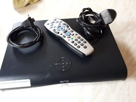 Sky HDMI Box with cables and remote