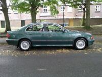 BMW 520i Petrol Green Manual 520 2.0 e39 saloon