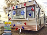 Cheap starter package 2 bed static caravan FREE 17 & 18 site fees AT Seawick clacton essex kent