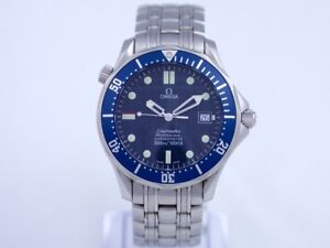 Omega Seamaster Professional Stainless Steel Blue James Bond Dial Automatic