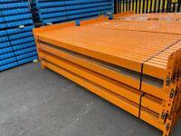 HEAVY DUTY WAREHOUSE PALLET RACKING DEXION UPRIGHTS 3.3m x 900mm £75 BEAMS 2.7m ( 2 tonne cap) £17